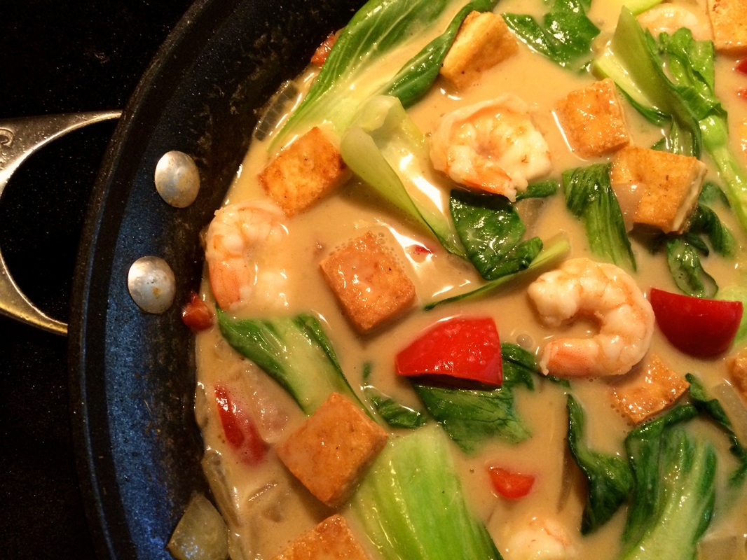 Thai Red Curry With Shrimp And Tofu Recipes — Dishmaps